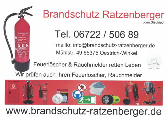 Brandschutz Ratzenberger