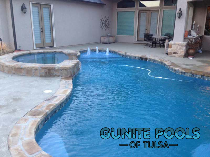 Gunite pools of tulsa in tulsa ok 74145 Hot tubs tulsa