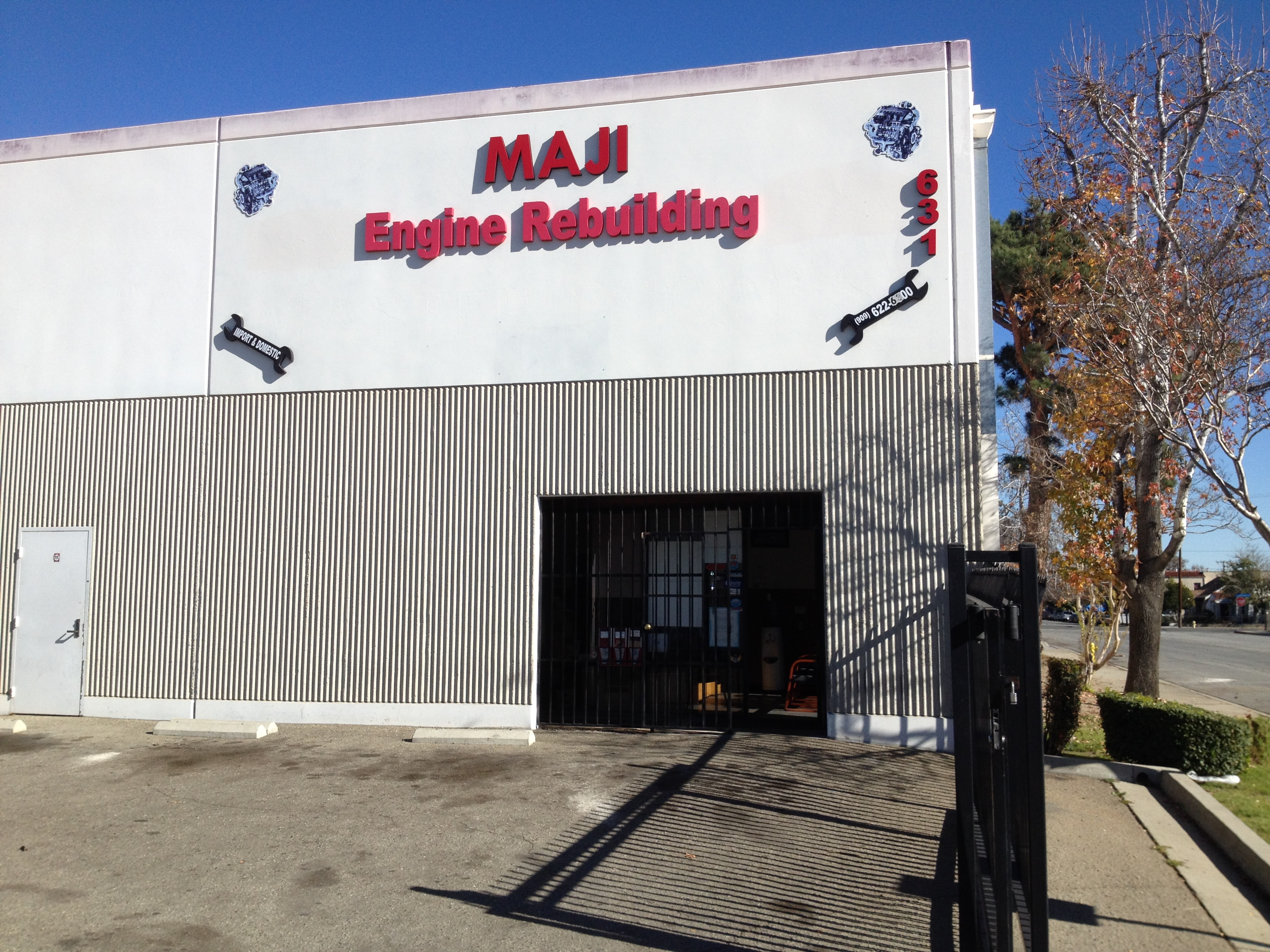 MAJI Engine Rebuilding