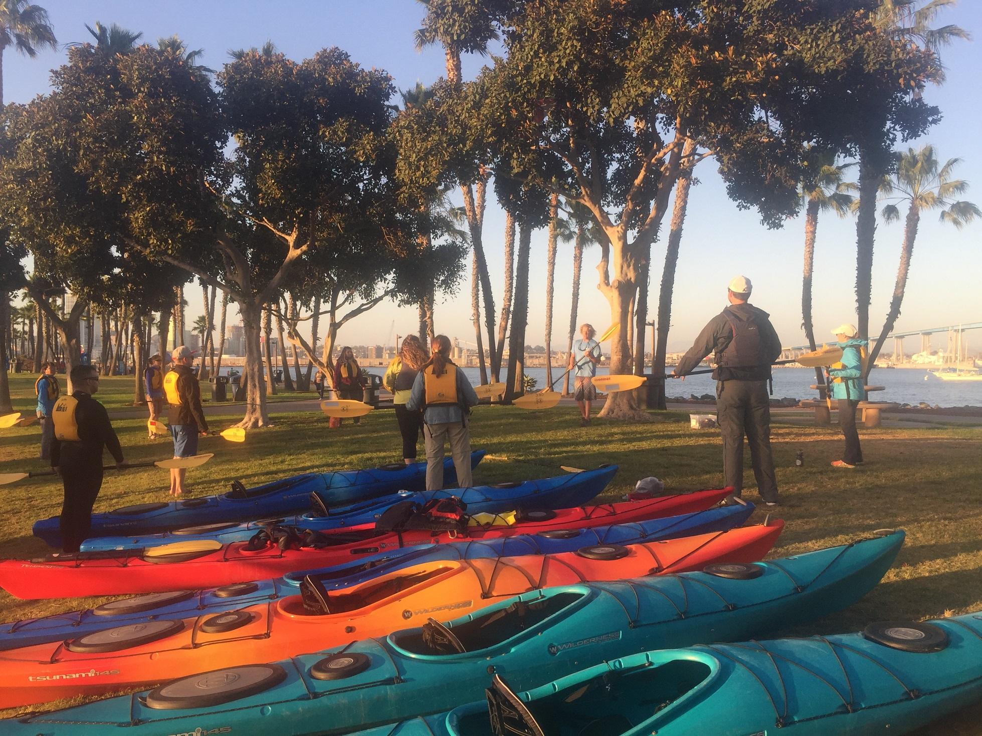 Kayak Tour - Coronado Island