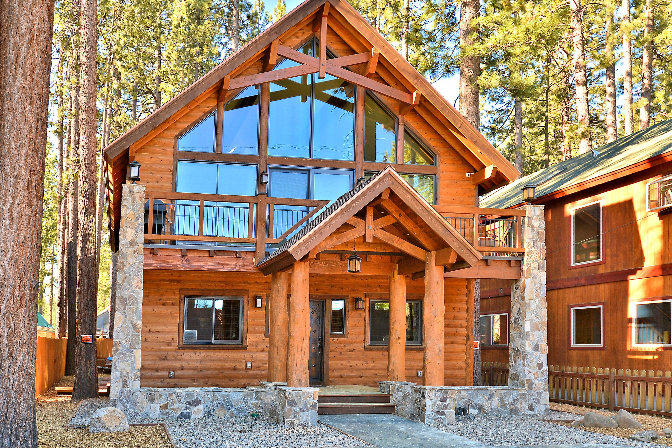 famous cabin lake tahoe luxury vacation rental in south