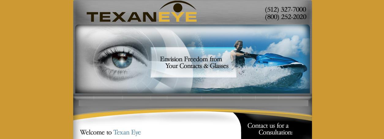 Texan Eye - ad image