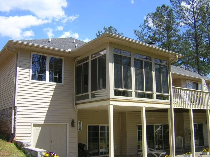 Porch conversion of seneca inc in seneca sc 29678 for Seneca custom homes