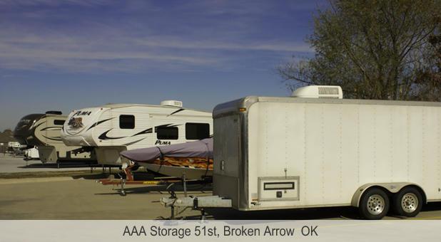 Aaa Storage 51st In Broken Arrow Ok 74014