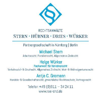 Bild zu Rechtsanwälte Stern-Hübner-Dries-Würker Partnerschaft in Nürnberg