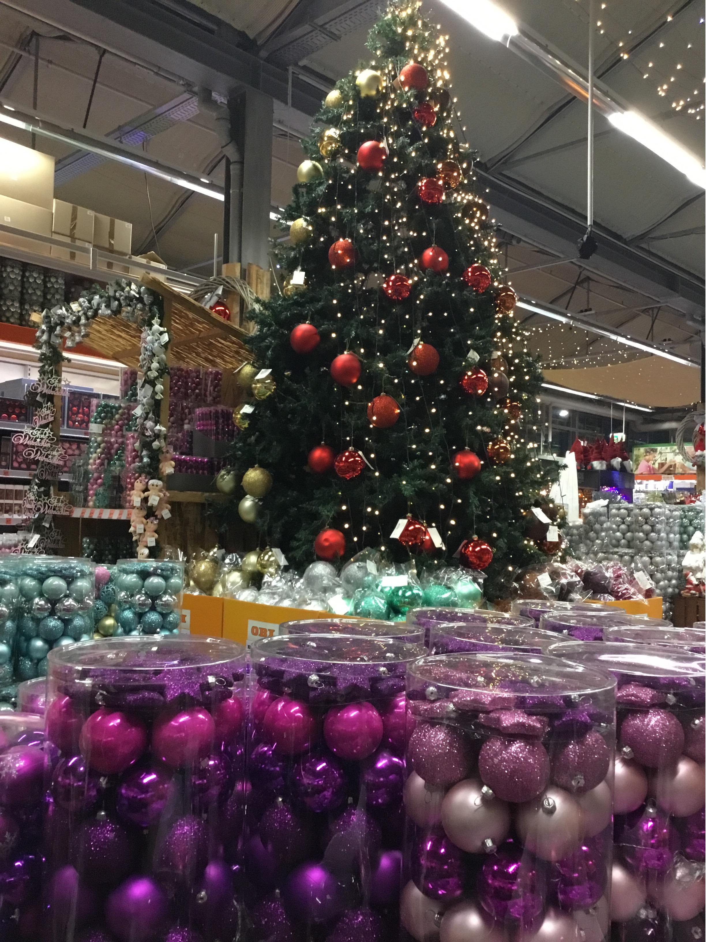 Weihnachtsmarkt OBI Waldshut