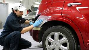 OEM parts and paint used on new vehicle repairs
