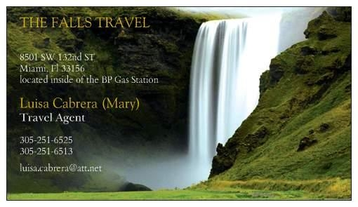 THE FALLS TRAVEL AGENCY, INC.
