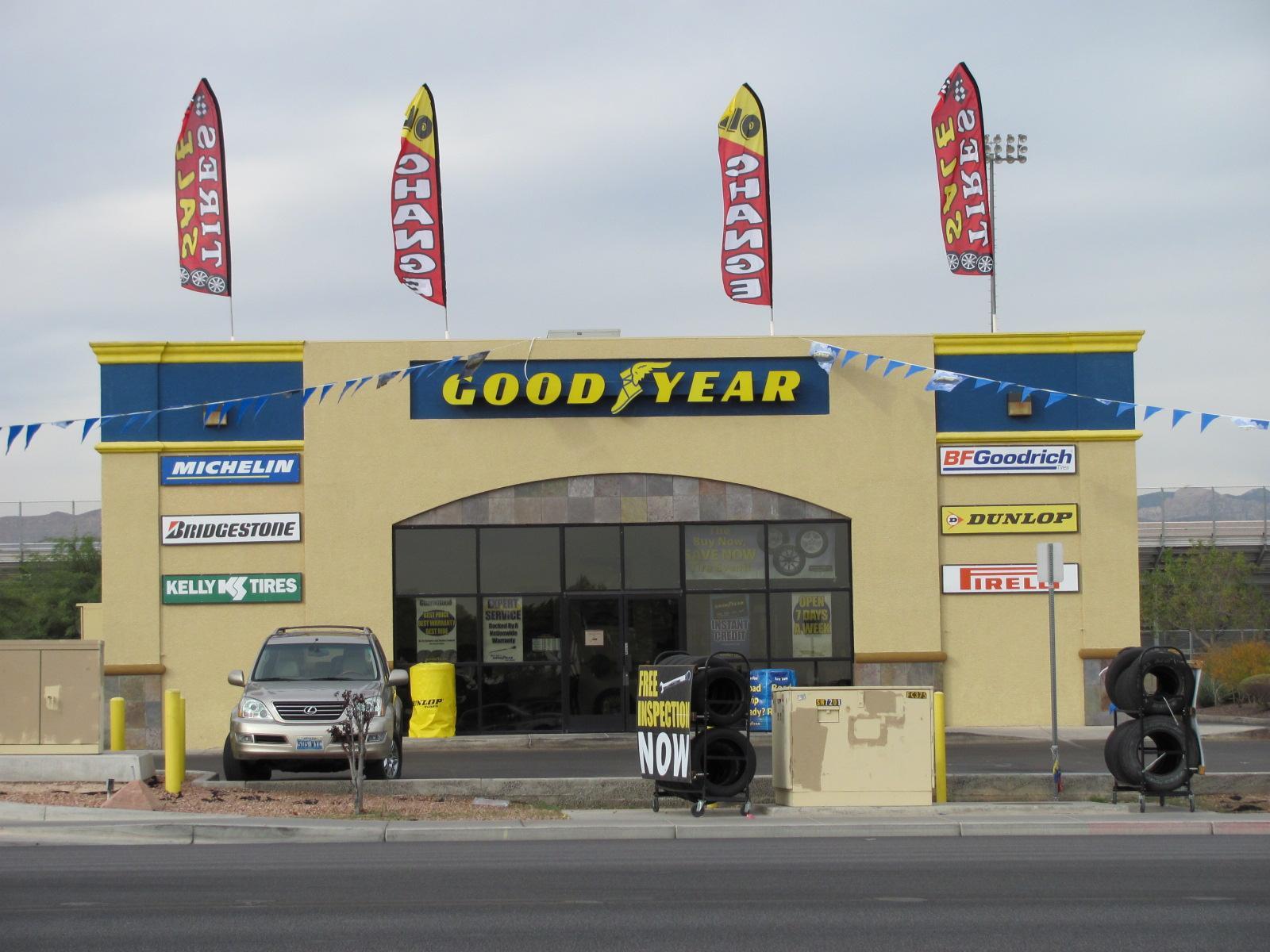 Superior Tire - Goodyear Auto Service Center - las vegas, NV -
