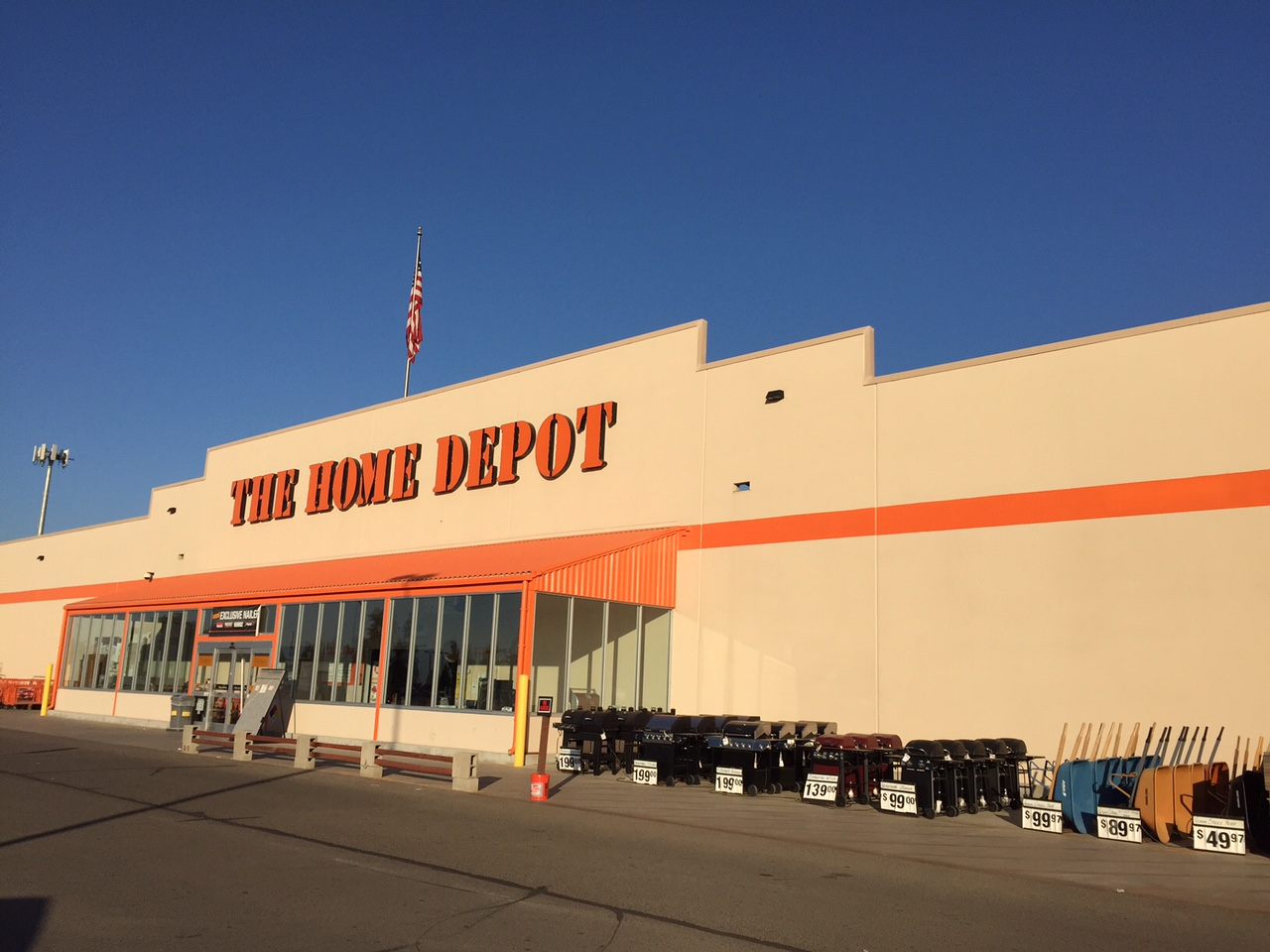 at The Home Depot. Create an Account Track orders, check out faster, and create lists.