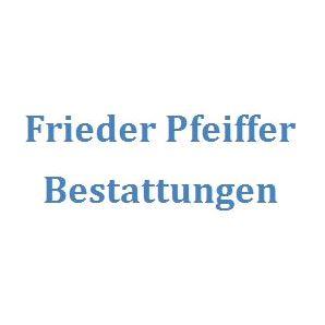 Frieder Pfeiffer, Bestattungen