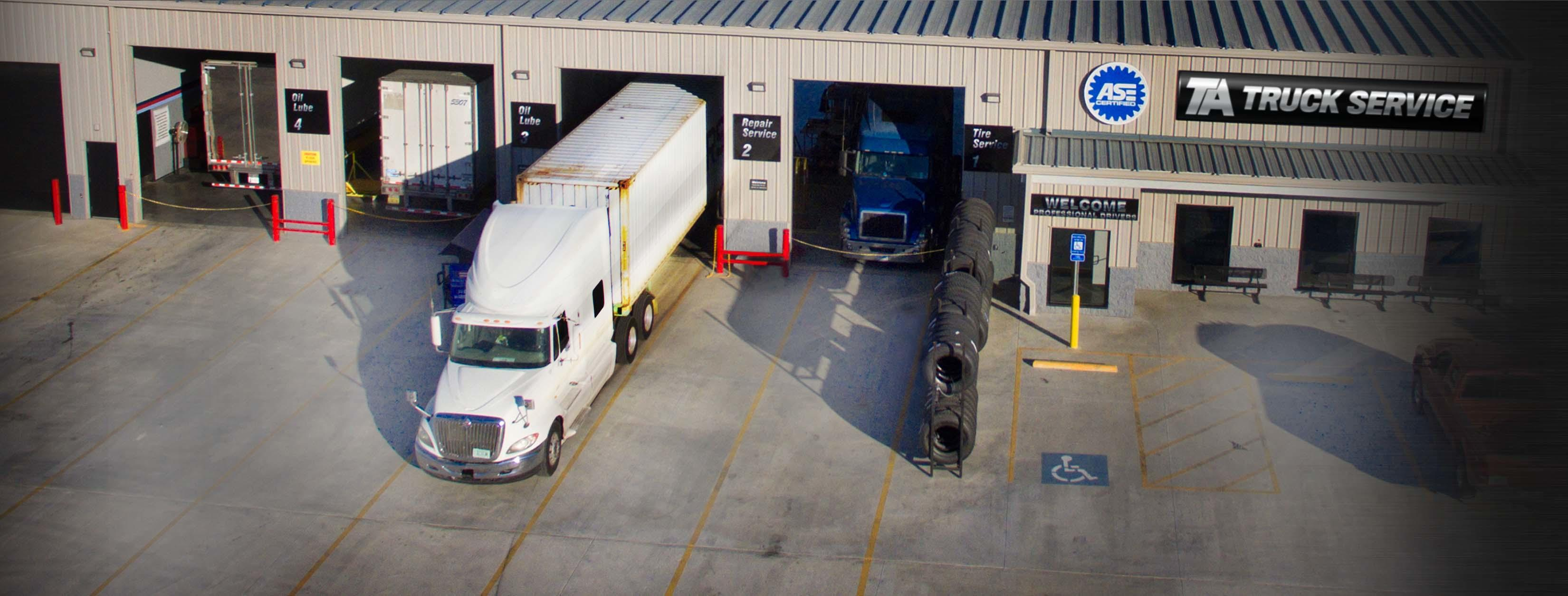 image of the TA Truck Service