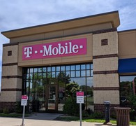 Exterior photo of T-Mobile Store at Hwy 65 & 109th Ave NE, Blaine, MN