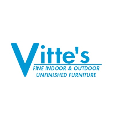 Vitte's Fine Indoor & Outdoor Unfinished Furniture