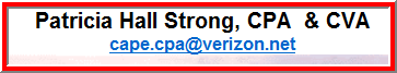 Patricia Strong, Cpa