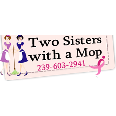 Two Sisters With A Mop