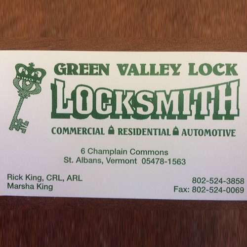 Green Valley Lock - Saint Albans, VT - Locks & Locksmiths