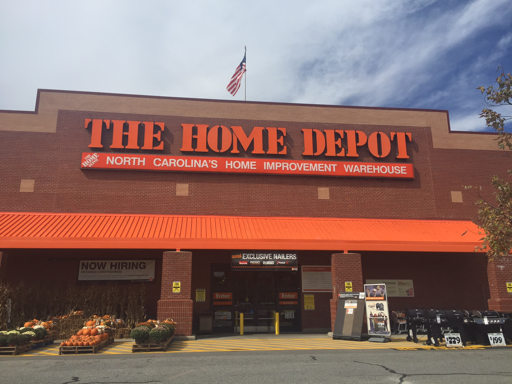 Home Depot Battleground Greensboro