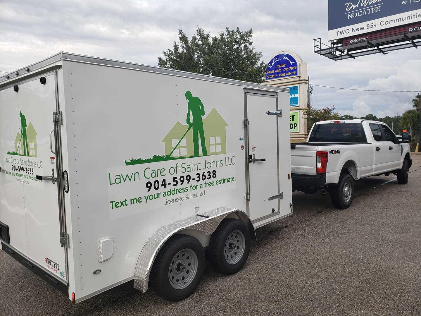 Look for us in your neighborhood! Lawn Care of Saint Johns LLC St. Johns (904)599-3638