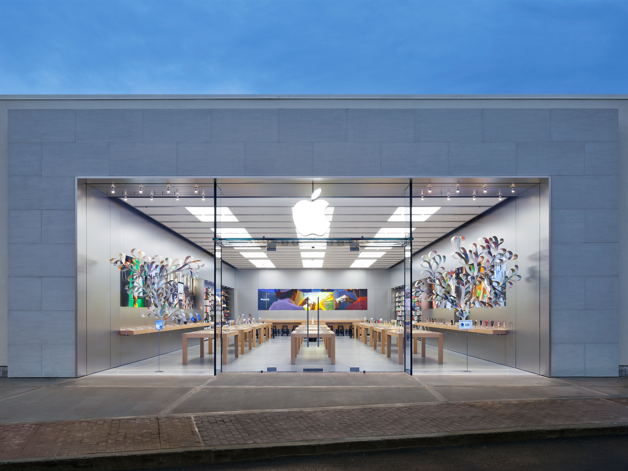 Apple evergreen walk south windsor connecticut ct for Evergreen shop