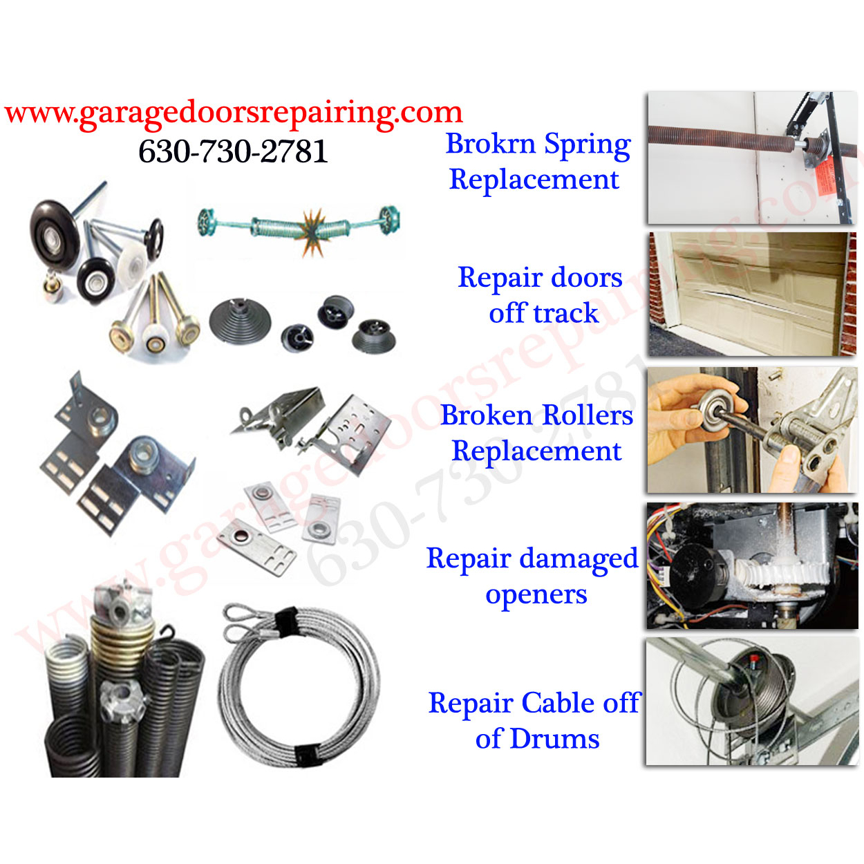Garage Doors Repairing Inc.
