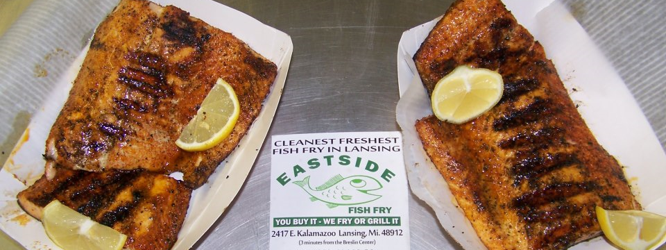 Eastside fish fry grill lansing michigan mi for Friday fish fry near me