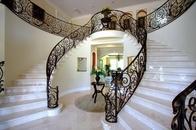 Custom marble stairs
