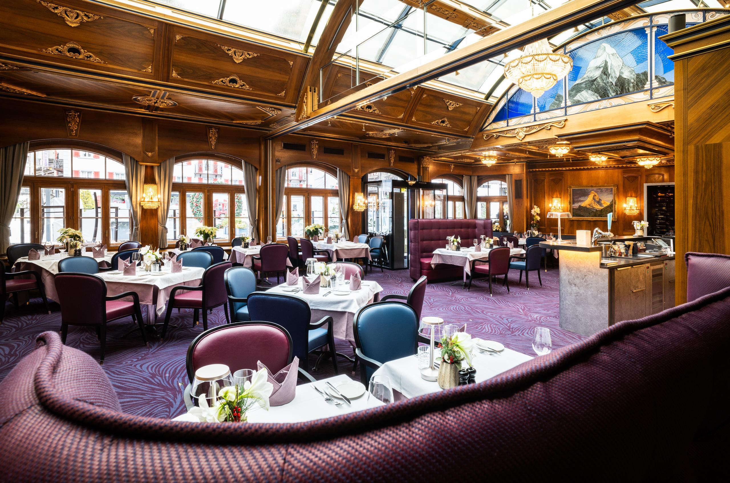 Grand Hotel Zermatterhof - Brasserie Lusi Lounge