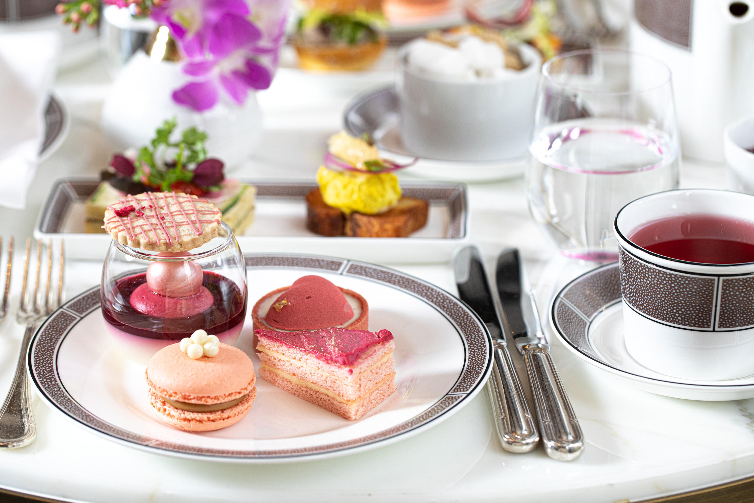 Bright Pink Tea
