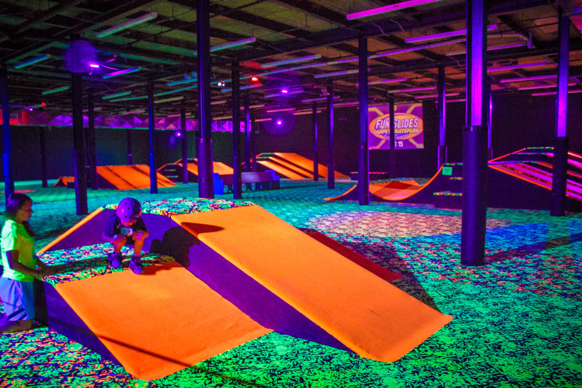 Fun Slides Carpet Skatepark and Party Center in Pittsburgh ...