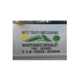 West Tulip Landscaping