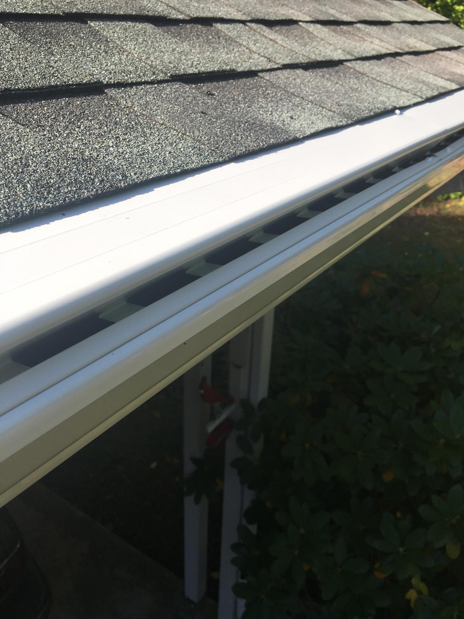 We install gutters.