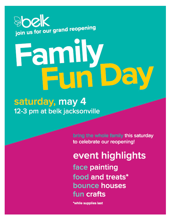 Jacksonville Grand Reopening Family Fun Day