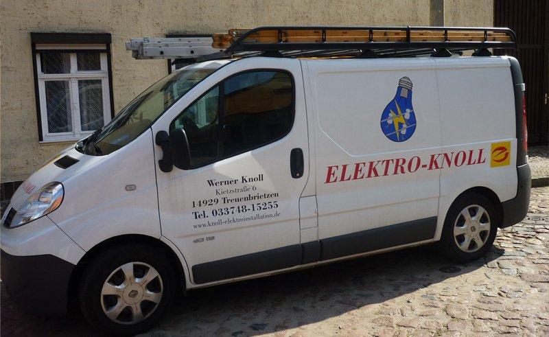 elektro knoll elektriker in treuenbrietzen kietzstra e 6. Black Bedroom Furniture Sets. Home Design Ideas
