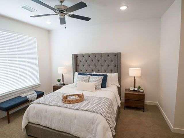Bedroom Foothill Lofts Apartments & Townhomes Logan (435)238-7121