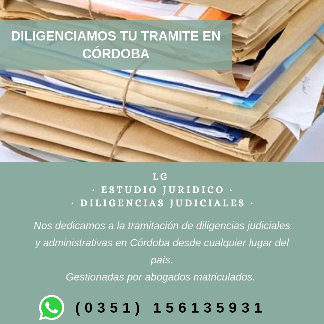 ESTUDIO JURÍDICO Y DILIGENCIAS JUDICIALES LG