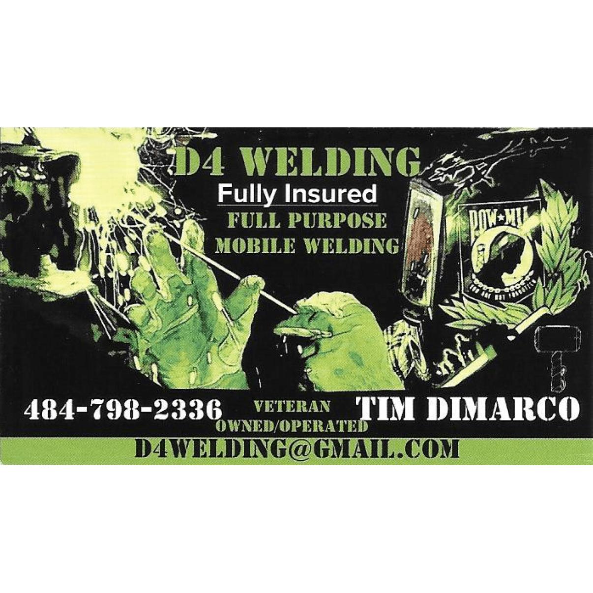 D4 Welding - Parkesburg, PA - Metal Welding