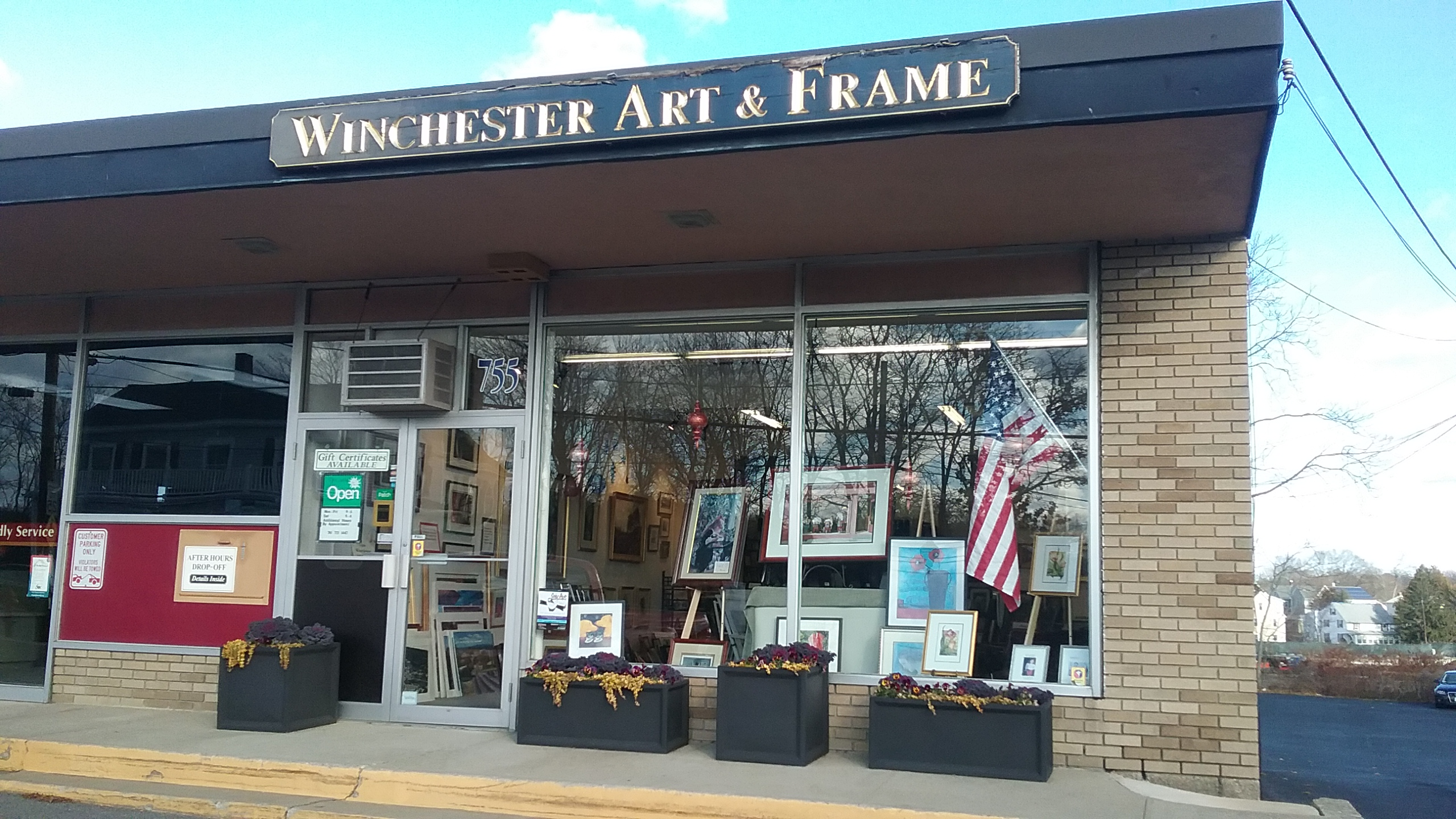 winchester art and frame winchester massachusetts ma. Black Bedroom Furniture Sets. Home Design Ideas