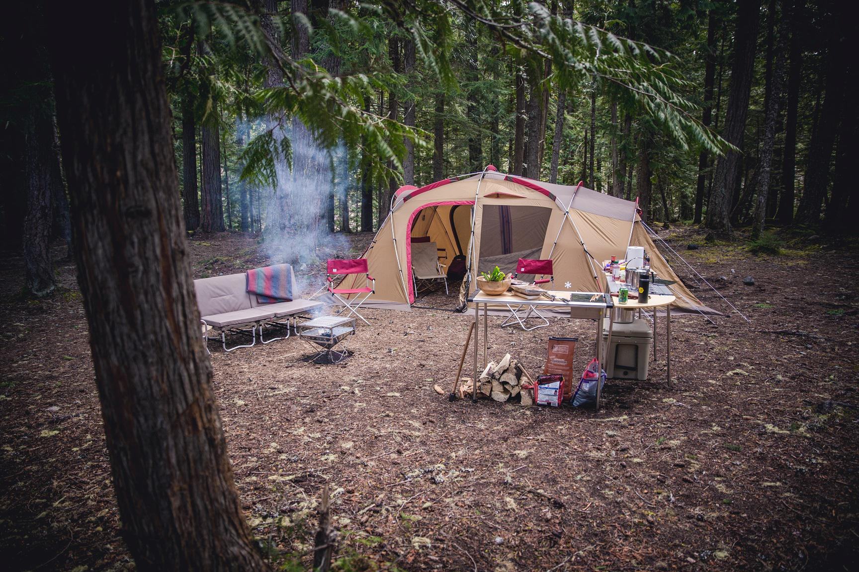 Women's Deluxe Camping Workshop