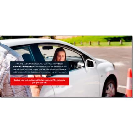 Omari Automatic Driving School - Bolton, Lancashire  - 01204 455147   ShowMeLocal.com