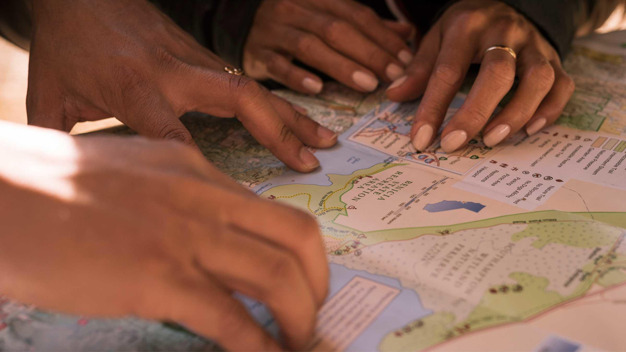 Women's Backcountry Navigation with a Map & Compass