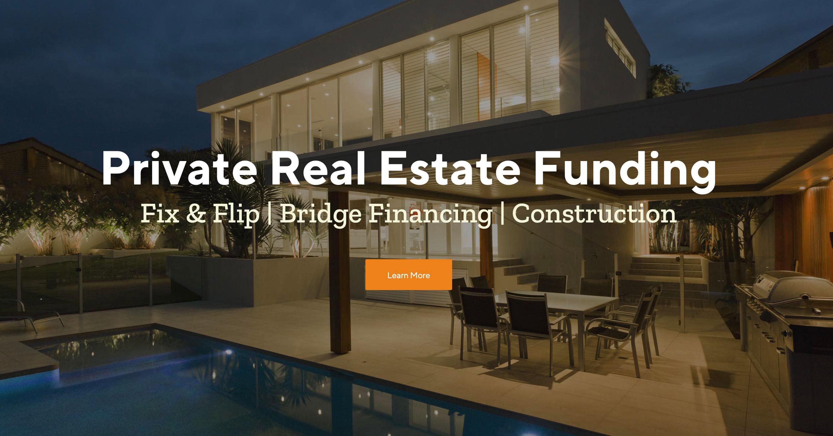 Private Real Estate Funding
