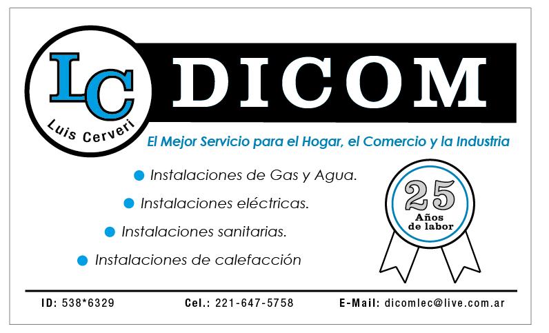 Dicom Gasista Matriculado - Plomero en la plata