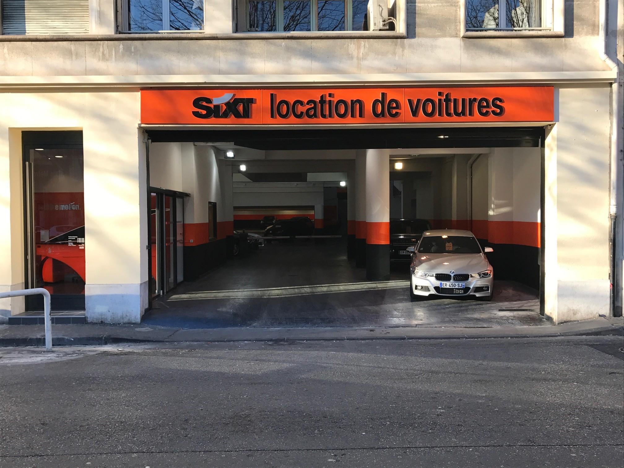 Sixt location de voitures