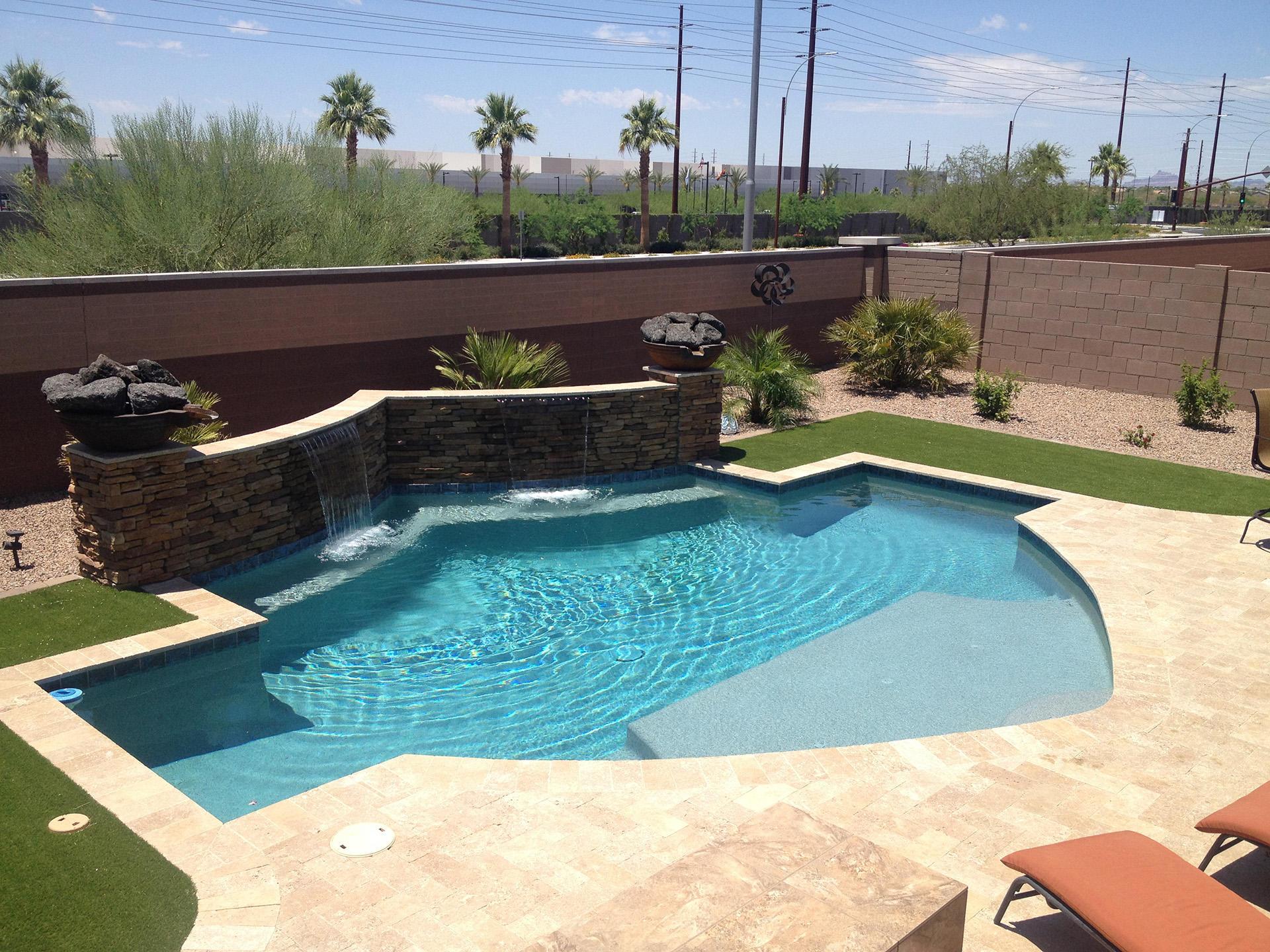 No limit pools spas mesa arizona az for Pools in mesa az