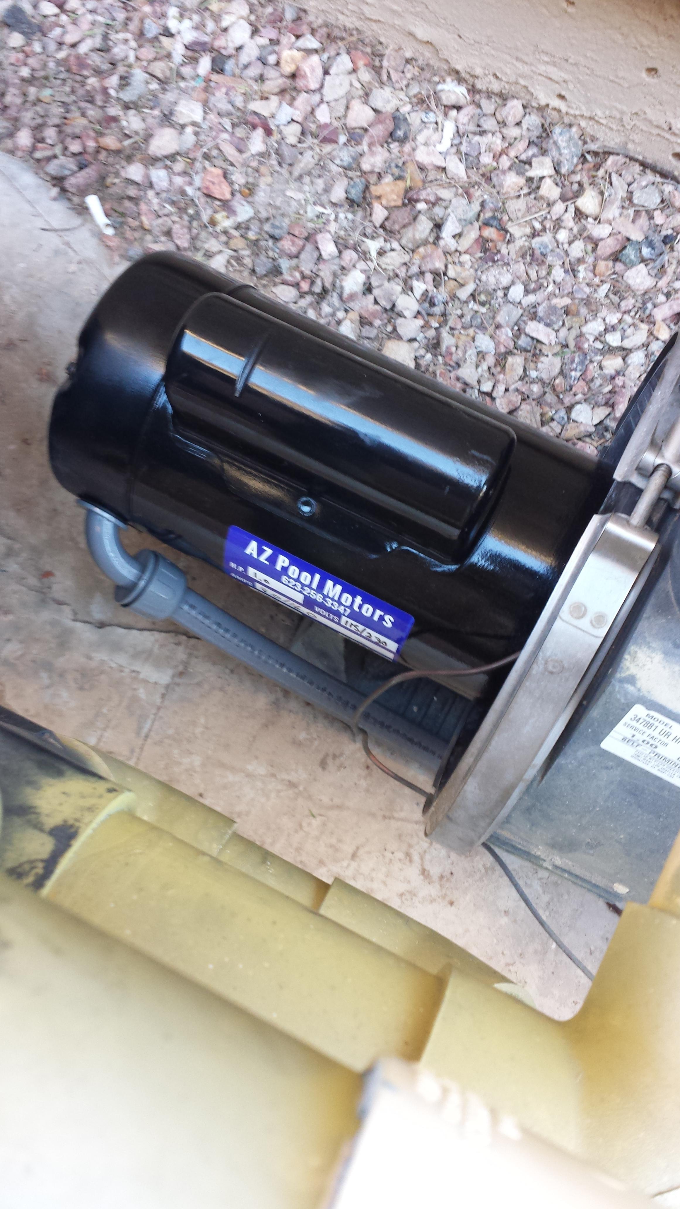Az pool motors phoenix arizona az for Rebuilt pool pump motors