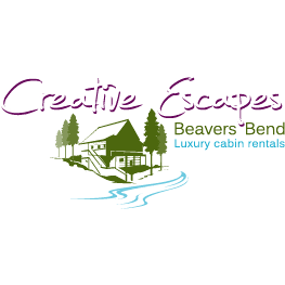 Vacation Home Rental Agency in OK Broken Bow 74728 Creative Escapes Beaver's Bend 10216 North US HWY 259  (580)306-2265