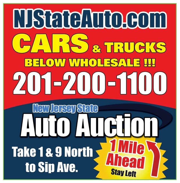 New Jersey State Auto Auction In Jersey City, 406 Sip Ave