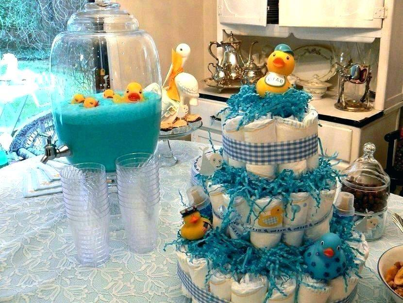 Baby Shower Refreshments Table