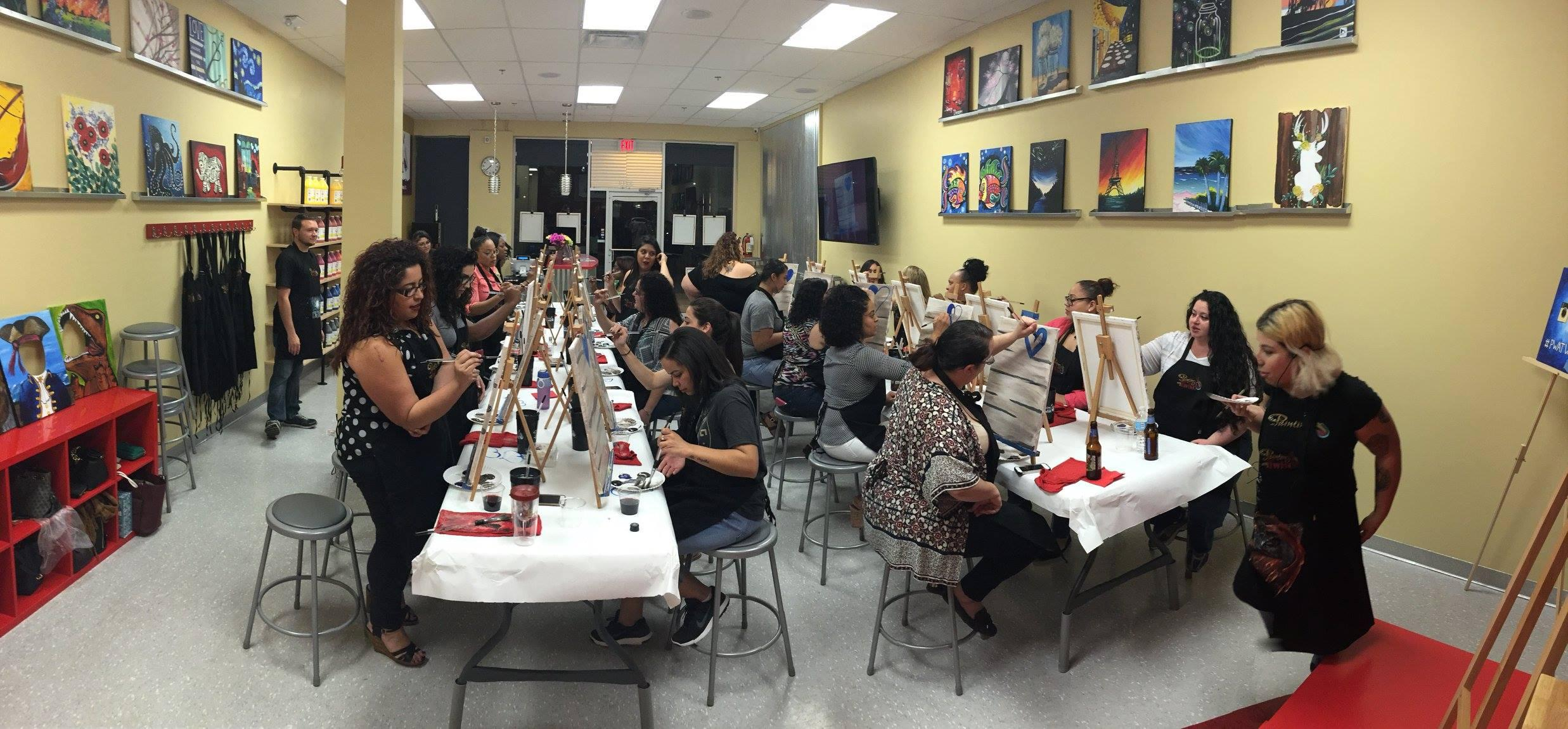 Painting with a twist in orlando fl 32803 for Wine and paint orlando